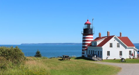 Quoddy Head Lighthouse.