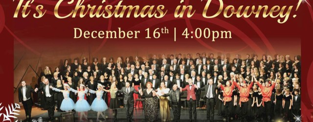 Bring the entire family to celebrate this holiday spectacular in the seven hundred-forty seat Downey Theatre.