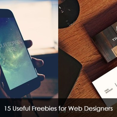 15 Useful Freebies for Web Designers