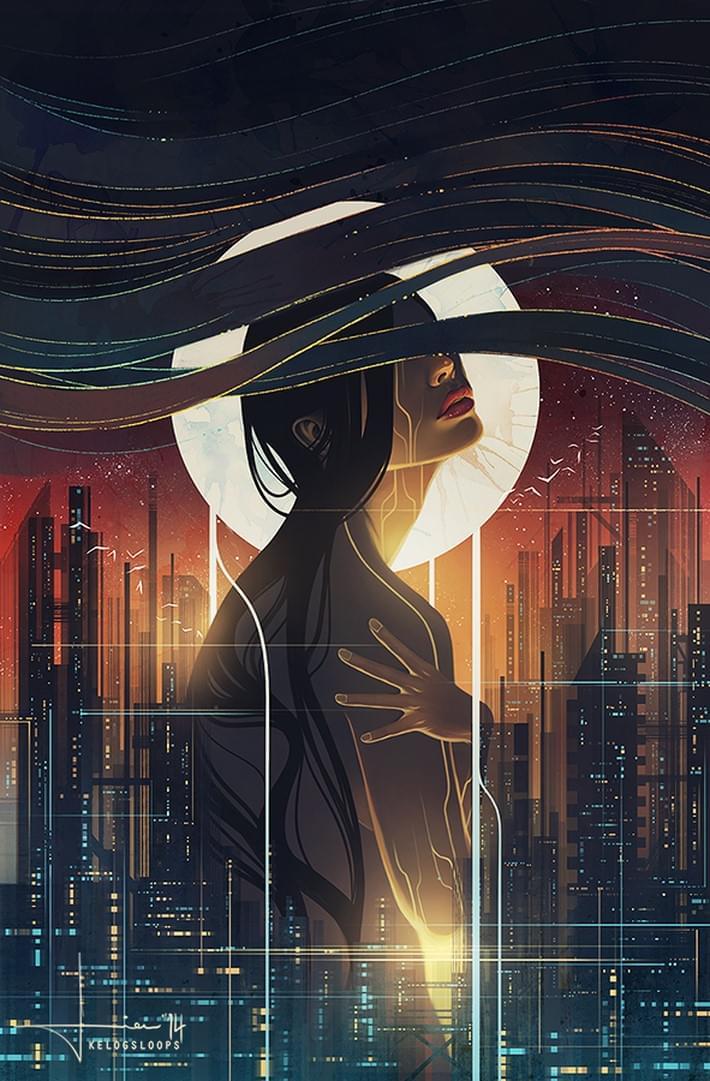 Beautiful Digital Art and Illustration of Kelogsloops