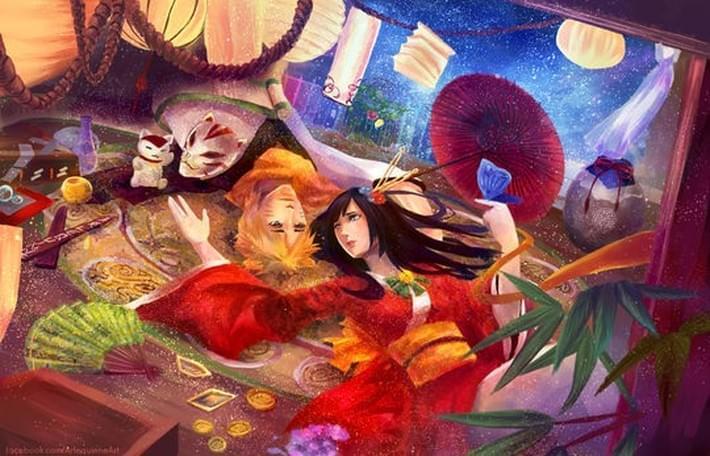 Inspiring Concept Illustration of Elin Tan