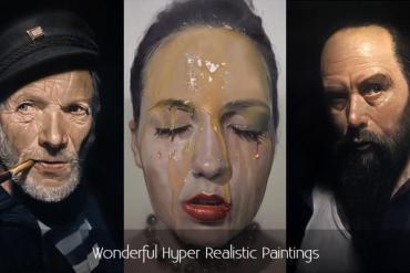 Wonderful Hyper Realistic Paintings
