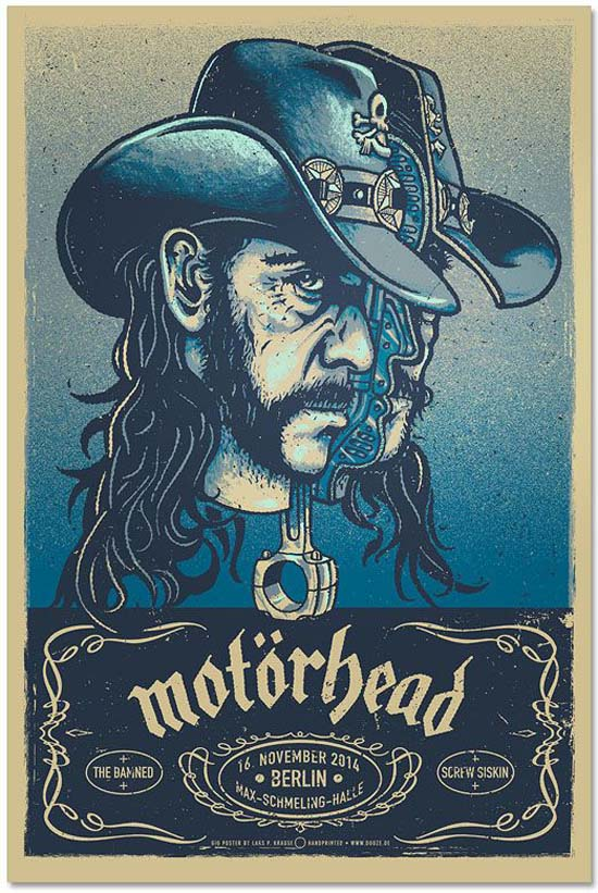 Cool Gig Posters by Lars P Krause