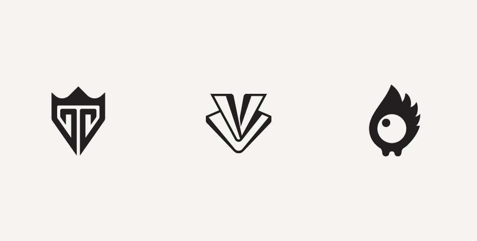 Intricate but Simple Logo Designs by Anton