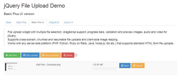 10 Best Bootstrap File Upload Plugins