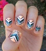abstract nail art ideas