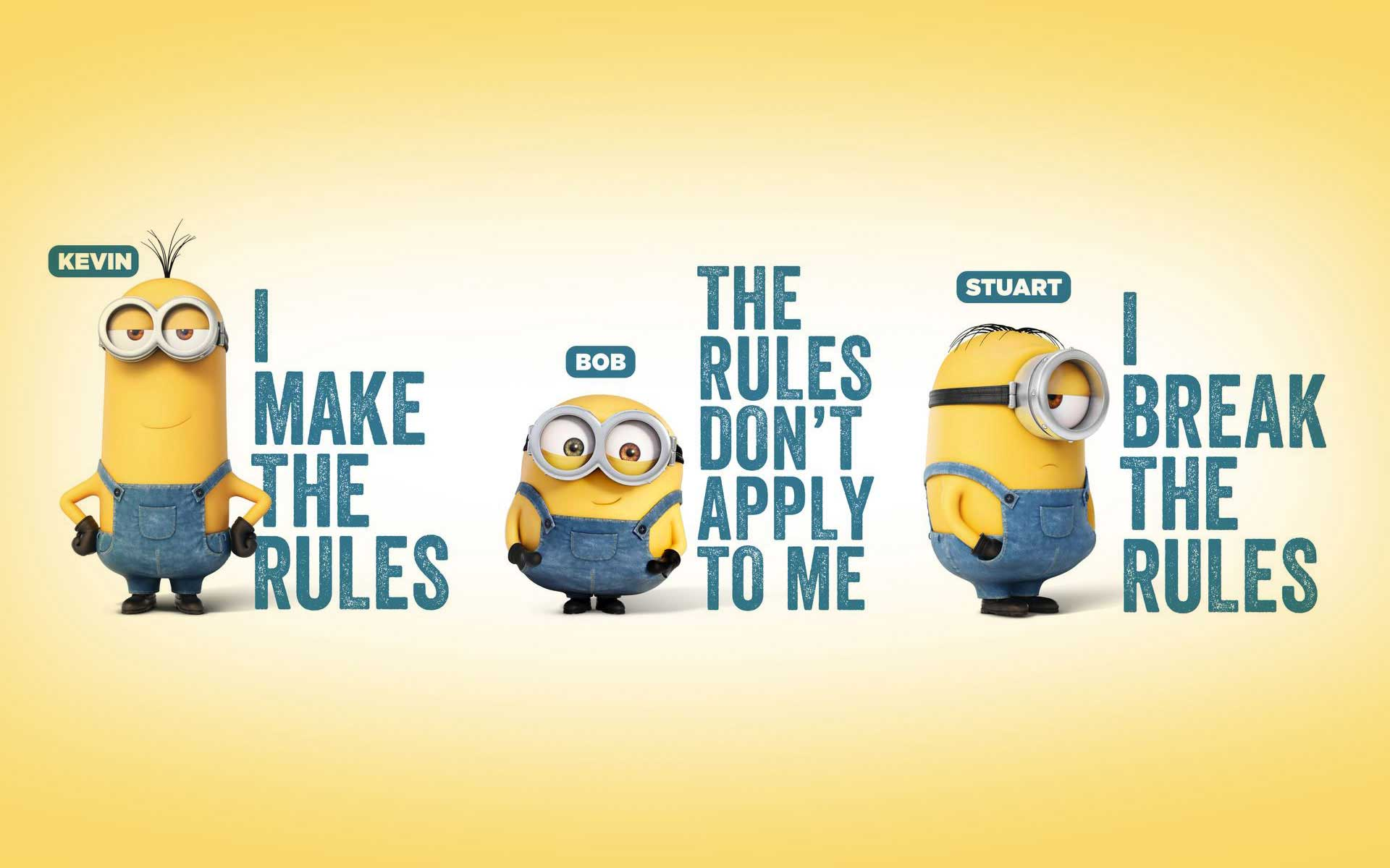 25 Cute Minions Wallpapers Collection