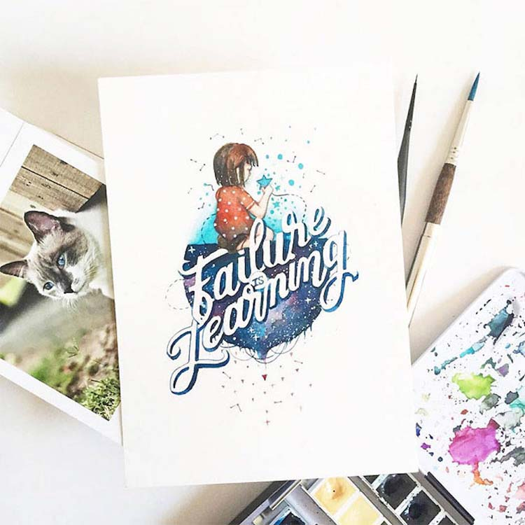 Beautiful Watercolor Quotes