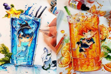 Brilliant Oil Paintings by Naschi