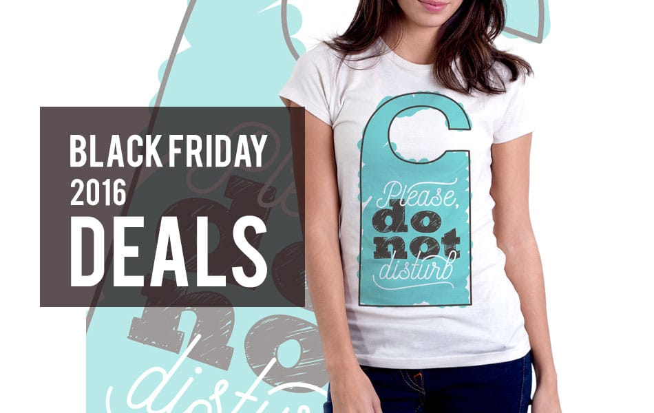 Black Friday 2016 Deals for Artists and Designers