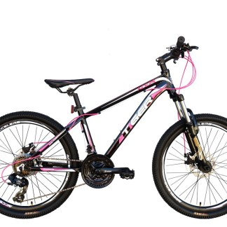tiger ace 24 pink suspension mountain bike