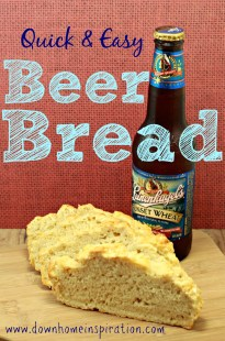 Quick Amp Easy Beer Bread Down Home Inspiration