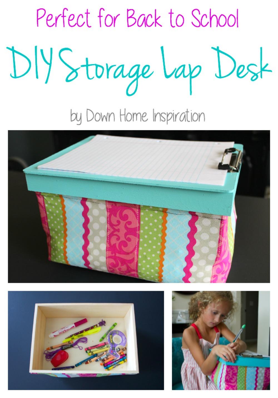 Storage Lap Desk 1