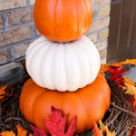 Quickest and Easiest DIY Fall Urn