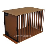 A great looking aluminum heavy duty dog crate from carrymydog.com