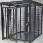 Heavy duty dog crate Collapsible steel from CarryMyDog.com