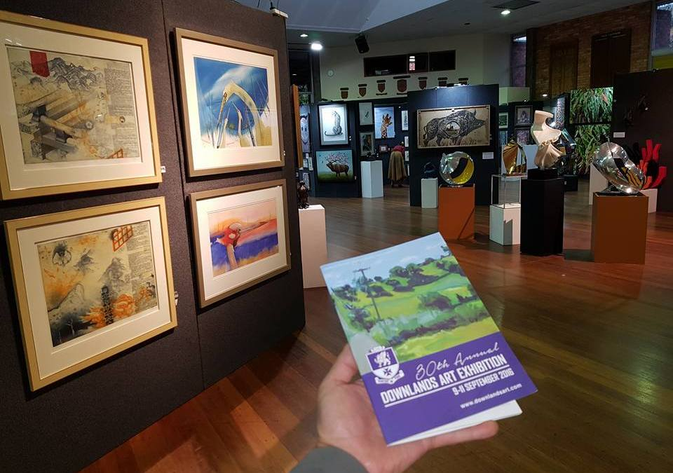Downlands Art Exhibition in The Chronicle