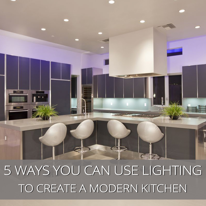 kitchen spotlights remodeling kitchens 5 ways you can use lighting to create a modern look