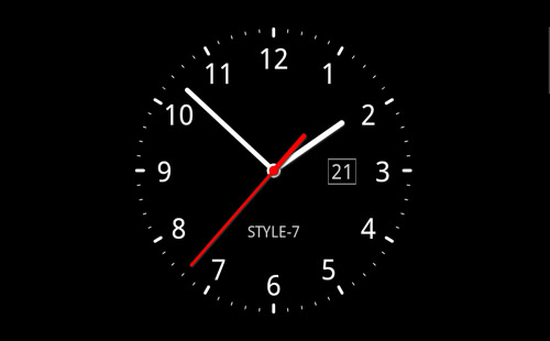 Running Clock 3d Wallpaper For Desktop تحميل ساعة ديجيتال Analog Clock Live Wallpaper 7 خلفيات
