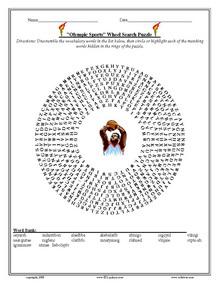 Olympics Games, ESL Vocabulary Worksheets, Printables