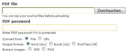 3 kostenlose online Tools um PDF in Excel zu konvertieren