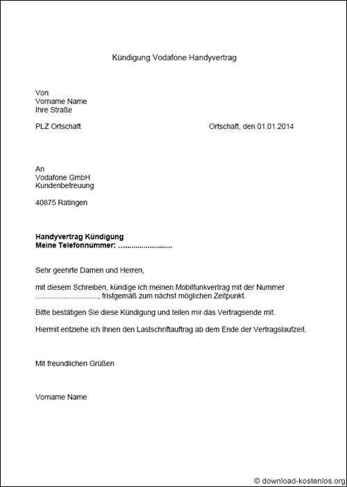 Kndigung mietvertrag vorlage vermieter  Huser