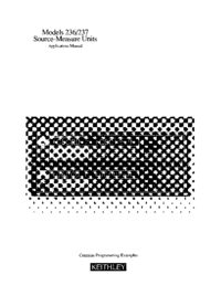Keithley 236 Other User Manual