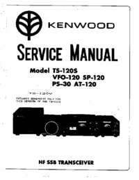 Kenwood TS-120S Transceiver Service Manual