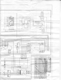 Miele W717 Washing machine Cirquit Diagram