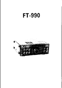 Yaesu FT-990 Transceiver Service Manual