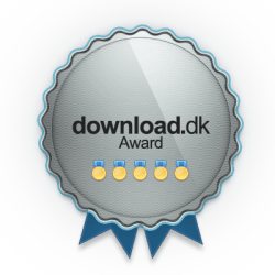 Award received from the DLC software-network (Download.dk User Award)