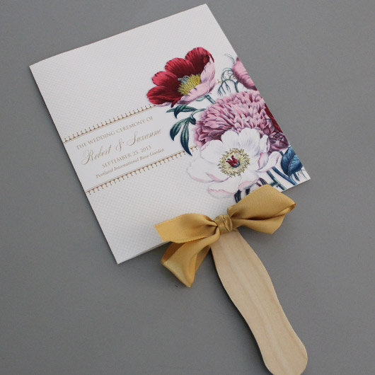 Laser Cut Fan Shaped Mini Wedding Invitation Cards Mint Green And White China Mainland