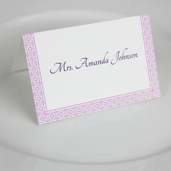 Microsoft Word Wedding Place Card Templates 1
