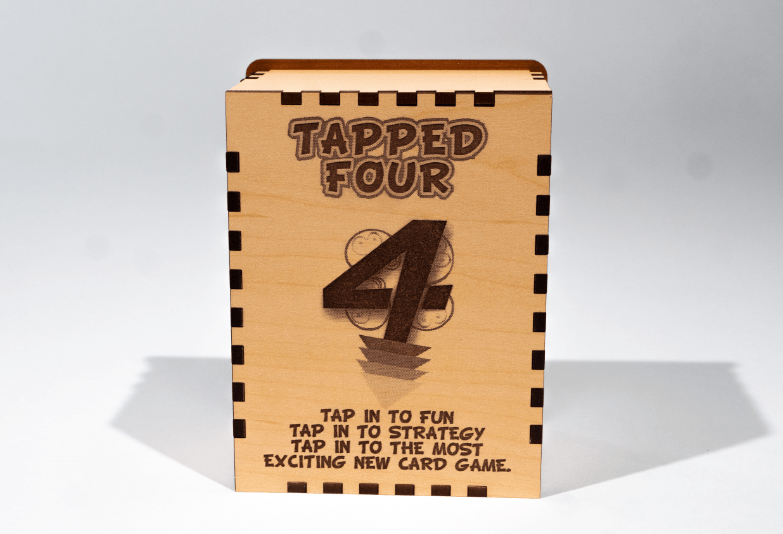 The best card game Tapped Four