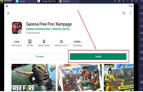 Download Free Fire Download for PC