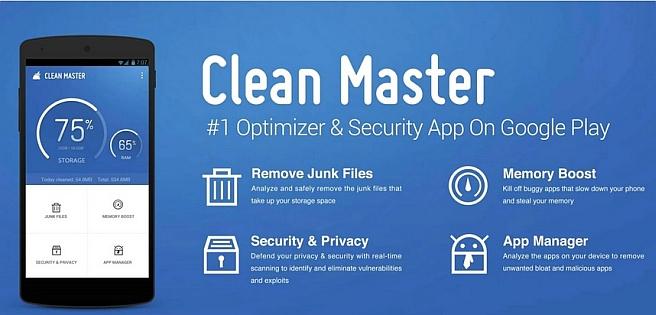تطبيق Clean Master - أكثر التطبيقات تحميلاً