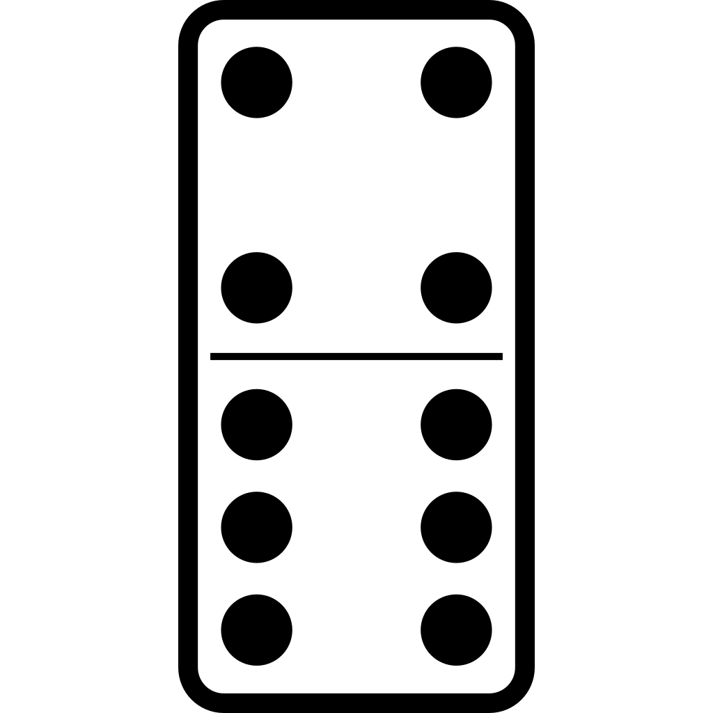 Domino Set 24 Svg Clip Art For Web