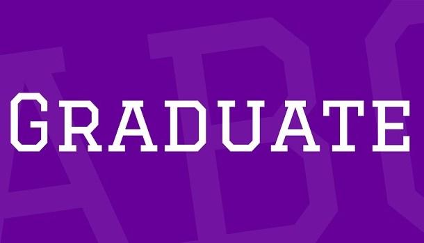 Graduate Font Family Free