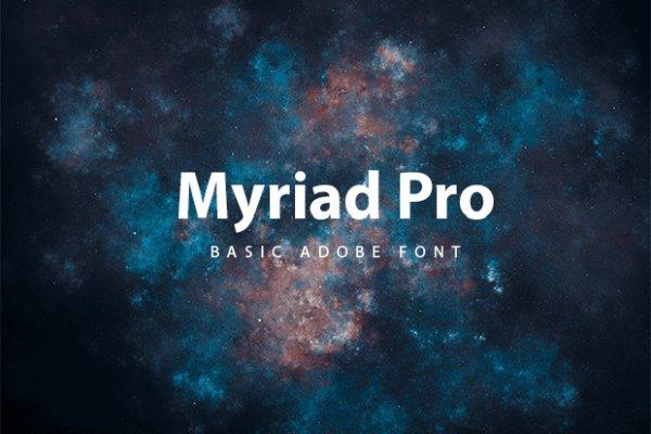 Myriad Pro Font Free