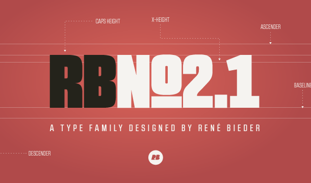 RBNo 2.1 & 3.1 Font Free