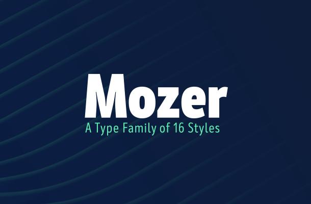 Mozer Font Free