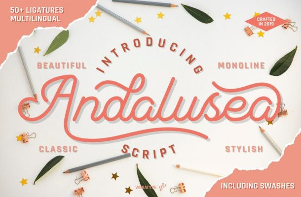 Andalusea Script Font