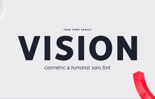 Vision Font Family Free