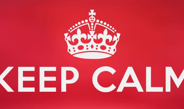 Keep Calm Font Free