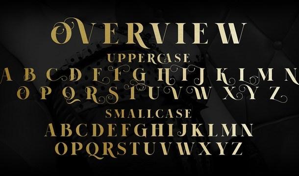 Voguer II Font Duo