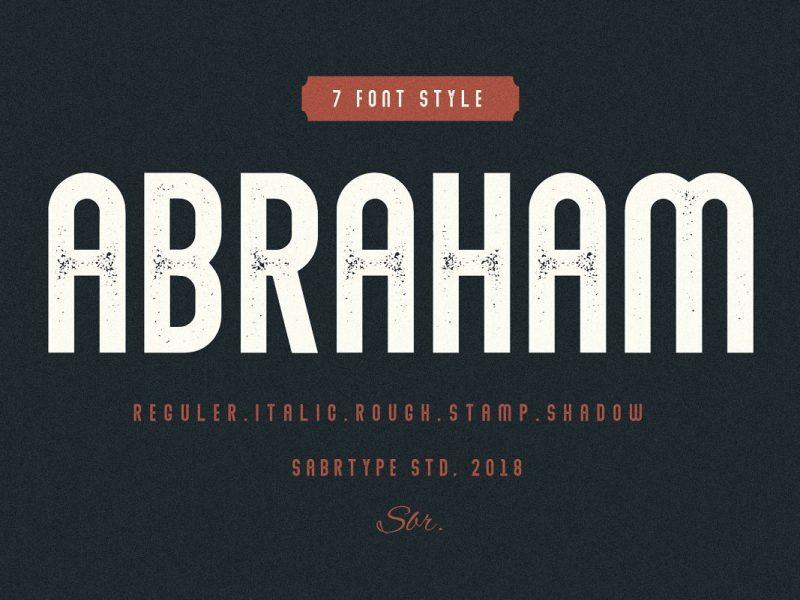Abraham-Font-Family-800x600