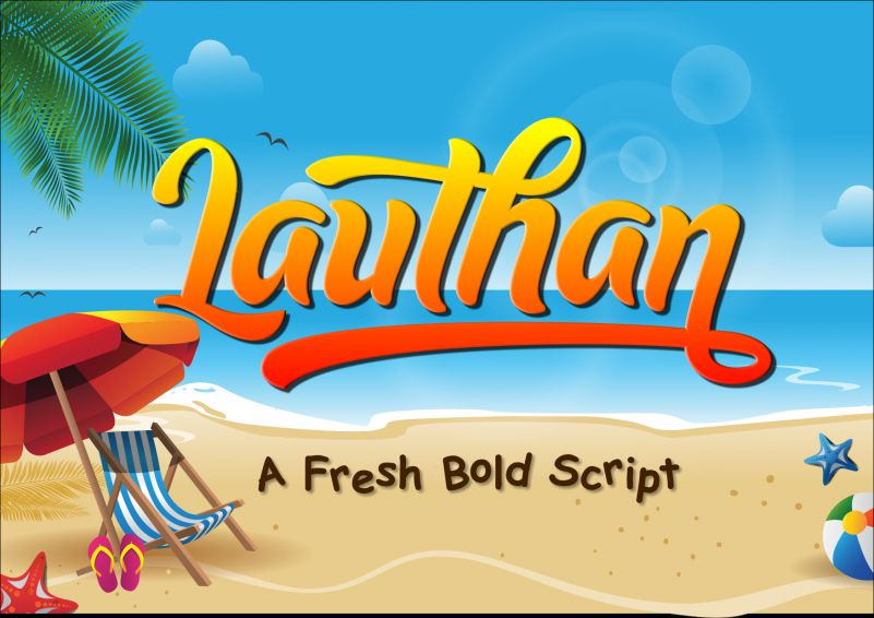 Lauthan-font