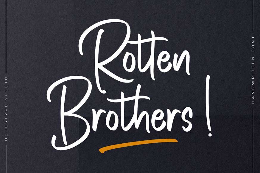 Rotten-Brothers-font-1