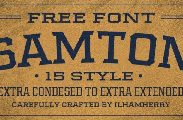 Samton Font