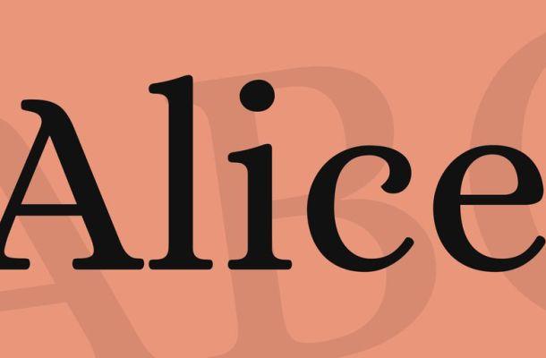 Alice Font